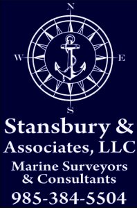Stansbury & Associates. Marine Surveying and Consulting. Morgan City, La.
